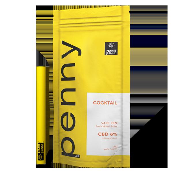 Penny cbd saveur multifruit cocktail