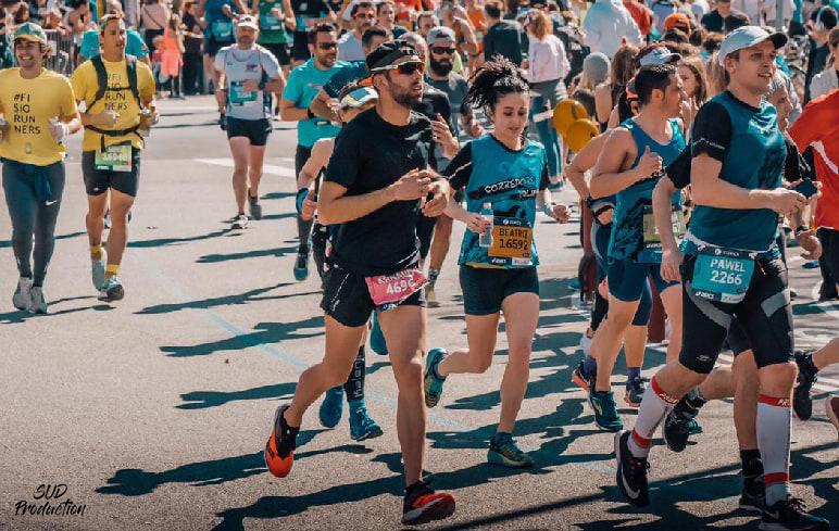arnaud marathon sport CBD