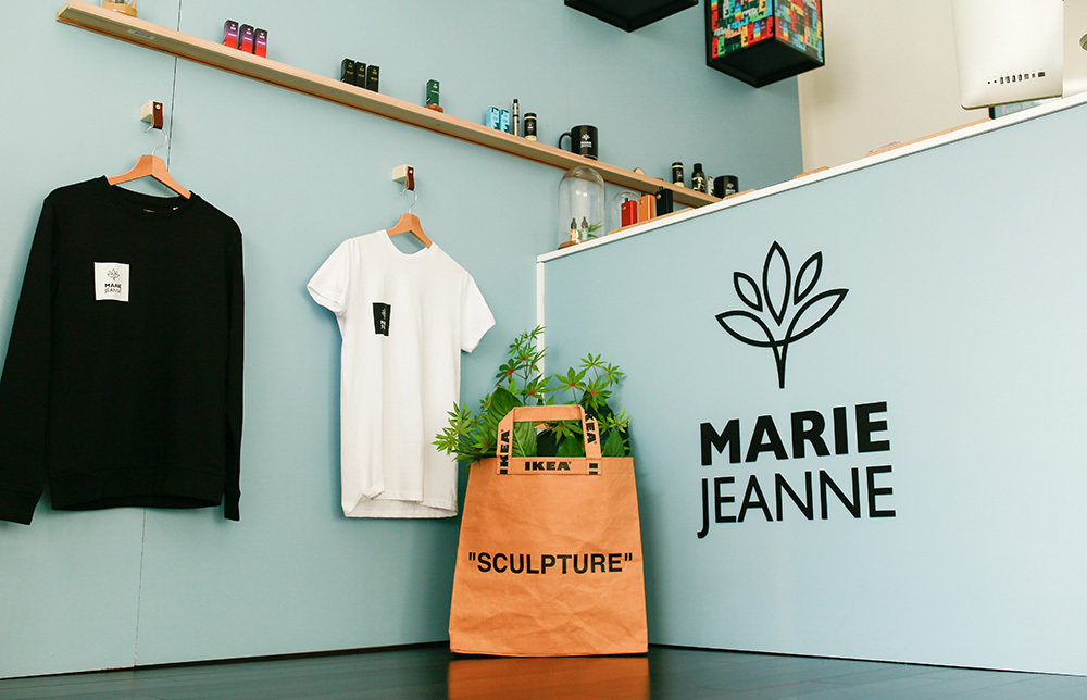 magasin CBD Marie Jeanne