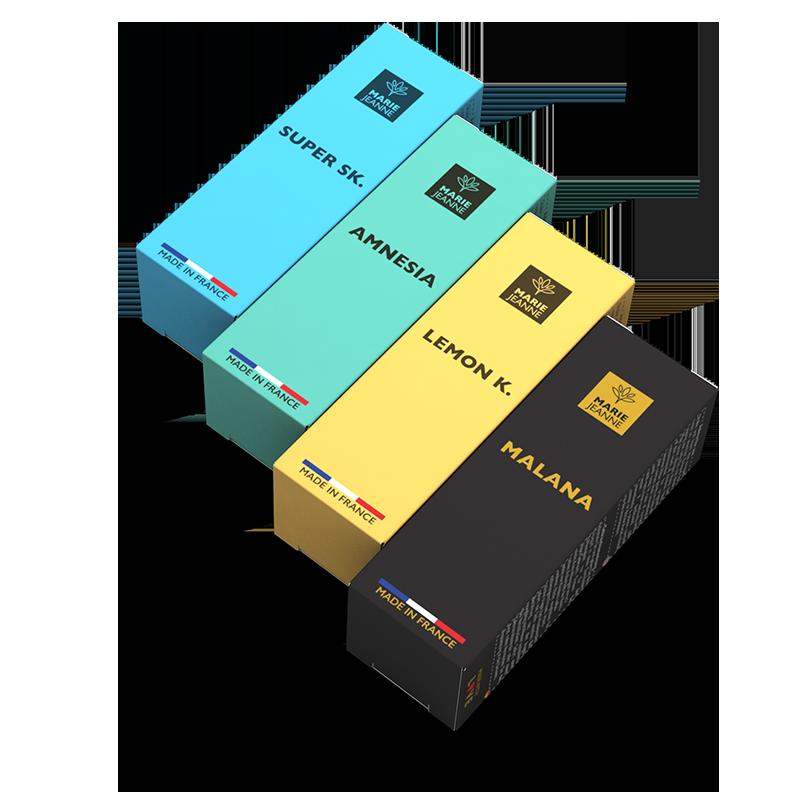 Gamme Full Spectrum e-liquide cbd