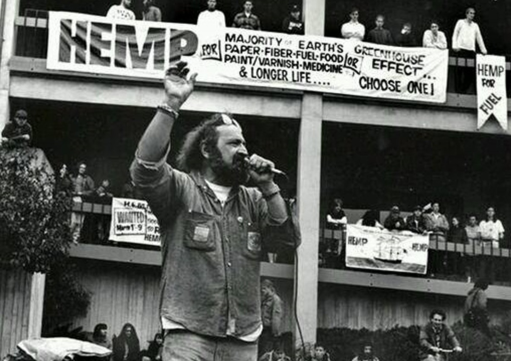 Jack Herer: legalization of hemp in the USA